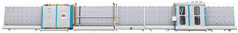 LBP1800D型自动外合片板压中空玻璃生产线