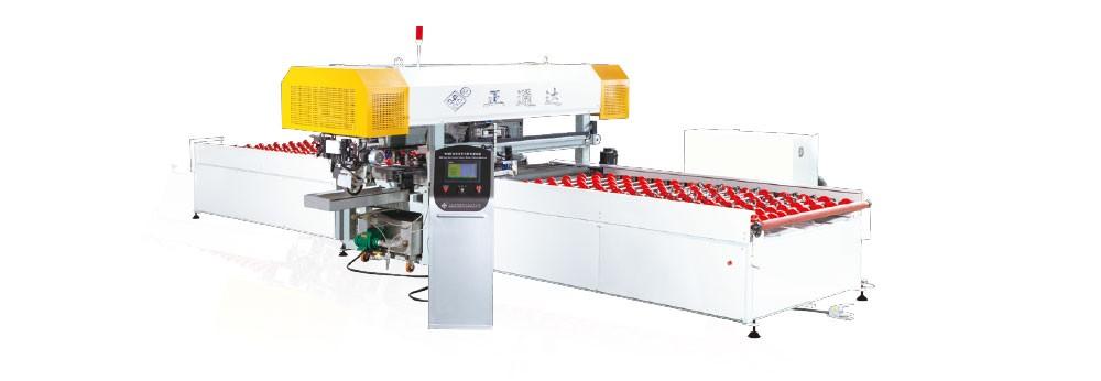 WSM-02型全自动侧压式四边直线磨边机