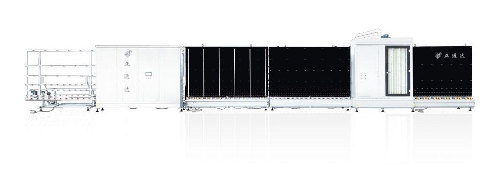 LBP1800A-I型自动内合片板压中空玻璃生产线