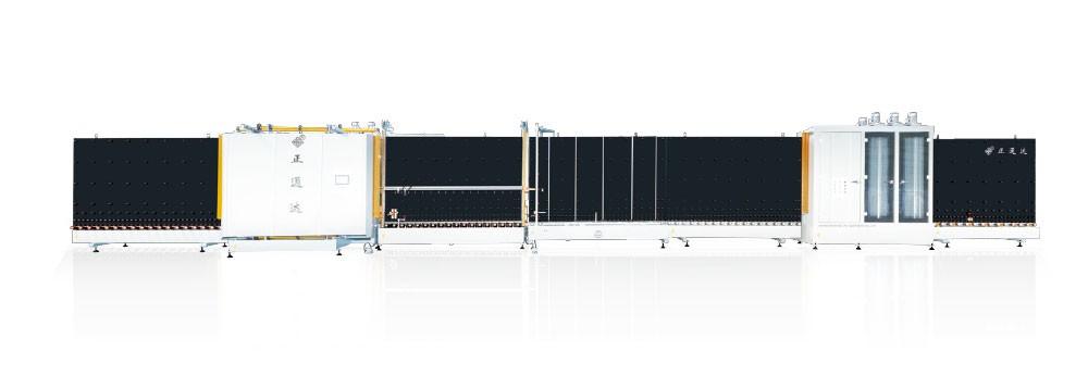 LBP2000WS/2000H型自动外(内)合片板压中空玻璃设备